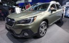 2018 Subaru Outback revealed at 2017 New York auto show