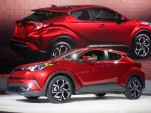 Another tiny SUV? No AWD for 2018 Toyota C-HR subcompact crossover