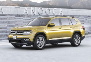 2018 Volkswagen Atlas 7-seat SUV unveiled; plug-in hybrid coming, but when?