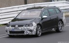2018 Volkswagen Golf R Variant spy shots and video