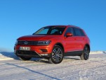 2018 Volkswagen Tiguan (Euro-spec)  -  Preview Drive, January 2016