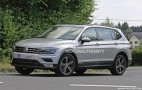 2018 Volkswagen Tiguan with 3rd-row seats spy shots