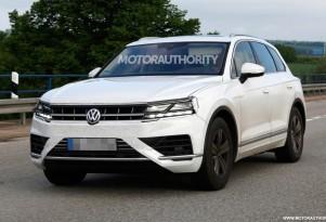 2018 Volkswagen Touareg spy shots - Image via S. Baldauf/SB-Medien
