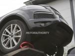 2018 Volkswagen Touareg test mule spy shots