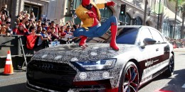 """2019 Audi A8 at the """"Spider-Man: Homecoming"""" premiere"""