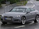 2019 Audi RS 5 Sportback test mule spy shots - Image via S. Baldauf/SB-Medien