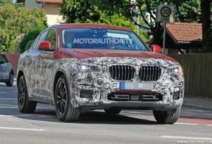 2019 BMW X4 spy shots - Image via S. Baldauf/SB-Medien