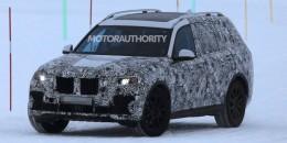 2019 BMW X7 spy shots - Image via S. Baldauf/SB-Medien