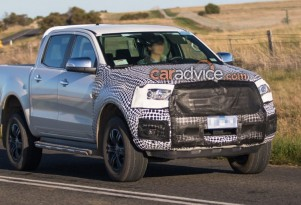 2019 Ford Ranger spy shots - Image via CarAdvice
