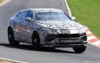 2019 Lamborghini Urus spy shots
