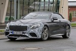 2019 Mercedes-AMG S63 Cabriolet spy shots