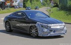 2019 Mercedes-AMG S63 Coupe spy shots