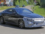 2019 Mercedes-AMG S63 Coupe facelift spy shots - Image via S. Baldauf/SB-Medien