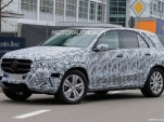 2019 Mercedes-Benz GLE spy shots - Image via S. Baldauf/SB-Medien