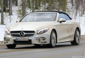 2019 Mercedes-Benz S-Class Cabriolet spy shots - Image via S. Baldauf/SB-Medien