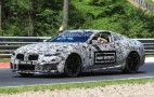 2020 BMW M8 spy shots