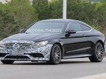 2020 Mercedes-AMG C63 Coupe facelift spy shots - Image via S. Baldauf/SB-Medien