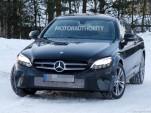 2020 Mercedes-Benz C-Class Coupe facelift spy shots - Image via S. Baldauf/SB-Medien