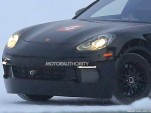 2020 Porsche 'Mission E' electric car test mule spy shots - Image via S. Baldauf/SB-Medien
