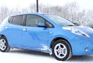 Nissan Leaf, Chevy Volt Range Loss In Winter: New Data From Canada