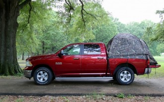 30 Days Of 2013 Ram 1500: Camping In Your Truck