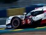 #5 Toyota TS050 Hybrid at the 2016 24 Hours of Le Mans