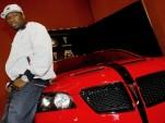 50 Cent and his custom Pontiac G8 at SEMA