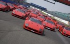 Record Gathering Of Ferrari F40s To Celebrate Supercars 25th Birthday