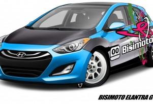 600-hp Bisimoto Engineering Hyundai Elantra GT for SEMA
