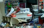 Woman Crashes Porsche 911 Turbo Into Gas Station: Video