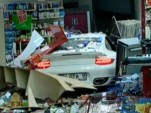 997 Porsche 911 Turbo that crashed in Istanbul, Turkey