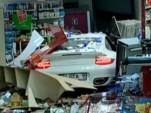 997 Porsche 911 Turbo that crashed in Istanbul, Turkey