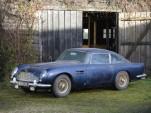 A 1964 Aston Martin DB5 Sport Saloon with just 48,000 accumulated miles - image: Bonhams