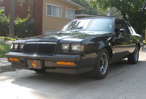 A 1986 Buick Regal Grand National - image courtesy of Ilan Rubier