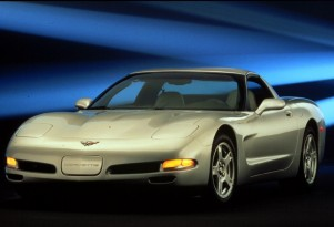 A 1998 Corvette, similar to the one being given away this year's Corvettes at Carlisle