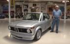 BMW 2002 restomod stops by Jay Leno's Garage