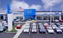 A Honda dealership in Erie, Penn.