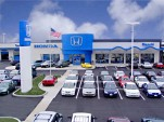 A Honda dealership in Erie, Penn.