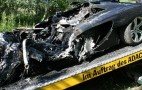 McLaren MP4-12C Test Drive Ends In Crash, Fire