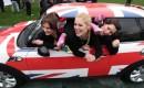 A MINI Cooper, stuffed with 28 agile women - image: MINI