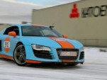 Audi R8 alleged to be involved in a hit-and-run case - Image courtesy Nieuwsblad