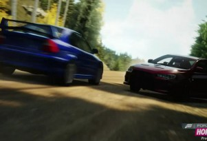 A screen grab from Forza Horizon