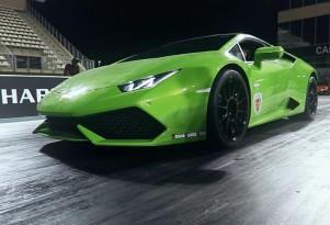 A twin-turbocharged Lamborghini Huracan making 1,493 whp