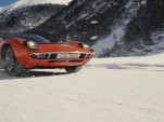 A WInter's Tale sees a Lamborghini Miura adventuring through the snow