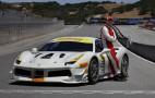 Actor Michael Fassbender races in Ferrari Challenge one-make series