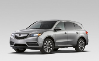 2014-2015 Acura MDX, RLX Recalled For Faulty Collision Avoidance Systems