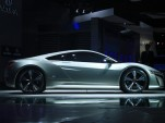 Acura NSX Concept live photos