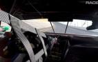 Acura NSX GT3 race car makes glorious noises around Daytona