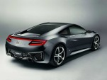 Updated Acura NSX Hybrid Supercar Concept Debuts In Detroit