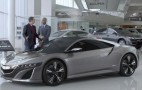 Acura NSX Super Bowl Spot: Getting The First One